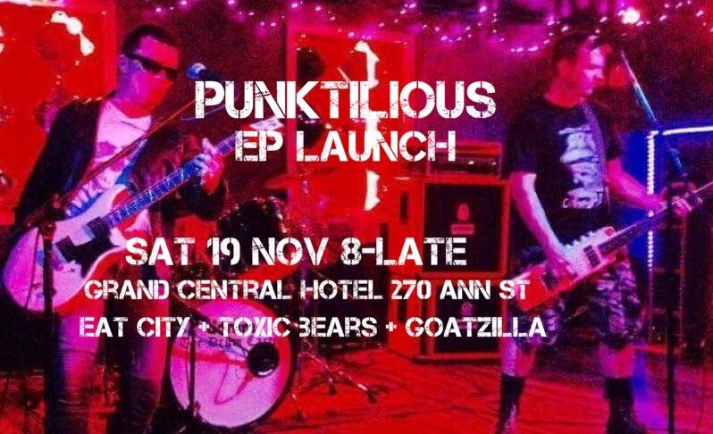 Punktilious EP launch An Apple a Day